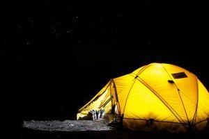 Claves para organizar una acampada con niños