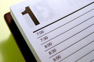 Cómo armar la agenda para organizar un evento