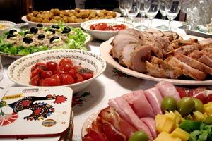 Cómo organizar el menú para las fiestas