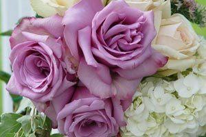La decoración con flores