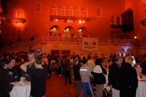 Opciones al elegir el salón de un evento
