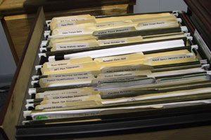 Organizar los documentos médicos de la familia