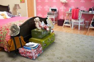 Reorganización de la habitación de los niños al ingresar a la escuela